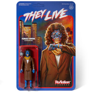 Super7 They Live ReAction Figure - Female Alien
