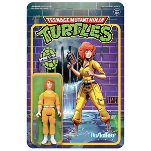Super7 Teenage Mutant Ninja Turtles ReAction Figure - April O'Neil
