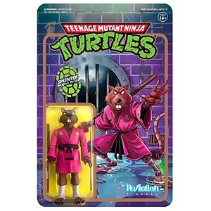 Super7 Teenage Mutant Ninja Turtles ReAction Figure - Splinter