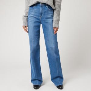 J Brand Women's Joan High Rise Wide Leg Jeans - Alto