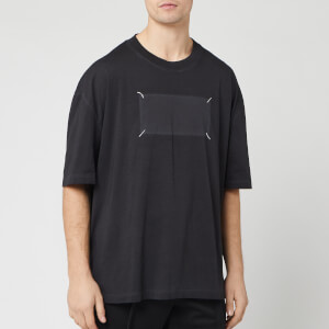 Maison Margiela Men's Ghost Logo T-Shirt - Black