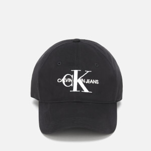 Calvin Klein Jeans Women's Monogram Cap - Black