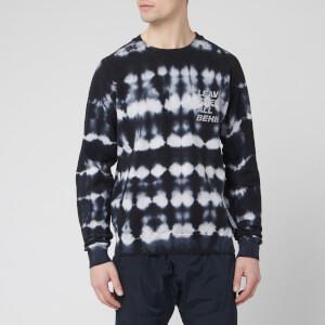 Satisfy Men's Raceday Sweatshirt - Blue/Black Tie Dye