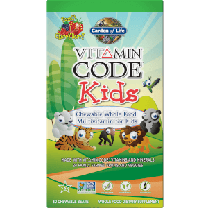 Vitamin Code Kids' Chewable Multivitamin Bears - Cherry Berry - 30 Bears
