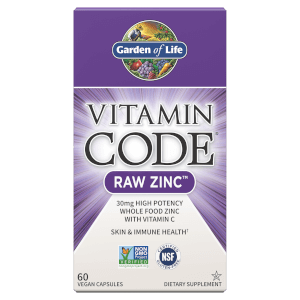 Vitamin Code Raw Zinc Végan - 60 capsules