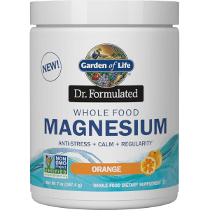 Garden of Life Dr. Formulated Whole Food Magnesium Tablets - Orange 197.4g