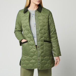 Barbour Women's Modern Country Erin Quilted Jacket - Bay Leaf