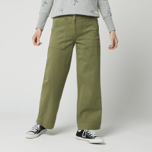 Barbour Women's Modern Country Summer Cabin Trousers - Bay Leaf