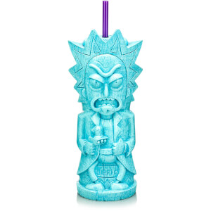 Rick and Morty Rick 25 oz. Geeki Tikis Plastic Tumbler