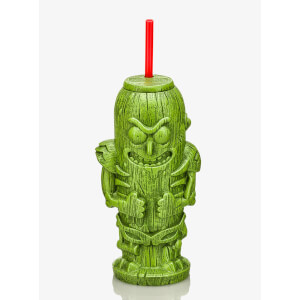 Rick and Morty Pickle Rick Geeki Tikis Plastic Tumbler