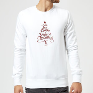 Peace at christmas Sweatshirt - White