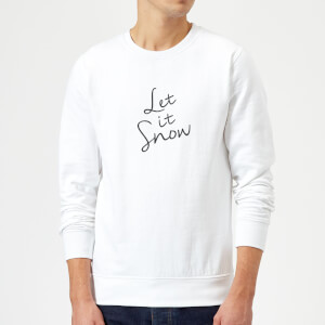 Let It Snow Sweatshirt - White