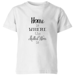 Mulled wine Kids' T-Shirt - White