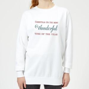 Wonderful Women's Sweatshirt - White