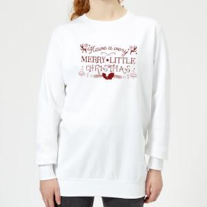 Very Merry Women's Sweatshirt - White