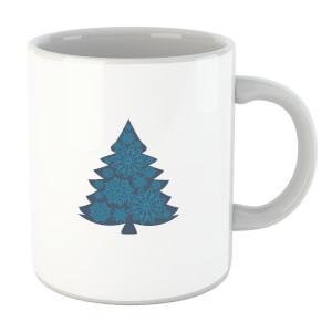 Snowflake tree Mug