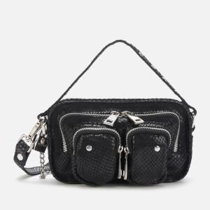 Núnoo Women's Helena Snake Cross Body Bag - Black