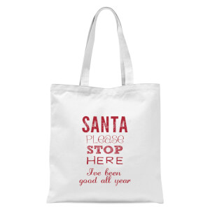 Please santa Tote Bag - White