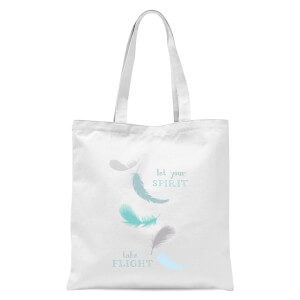 Spirit Flight Tote Bag - White