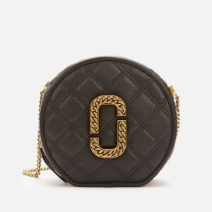 Marc Jacobs Women's Round Cross Body Bag - Black