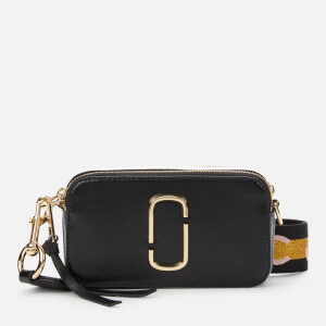 Marc Jacobs Women's Snapshot MJ Cross Body Bag - New Black Multi