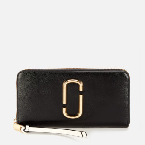 Marc Jacobs Women's Snapshot Continental Wallet - Black Multi