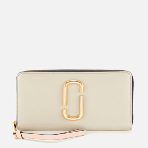 Marc Jacobs Women's Snapshot Continental Wallet - Dust Multi