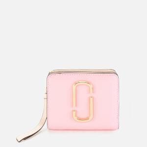 Marc Jacobs Women's Snapshot Mini Compact Wallet - Powder Pink Multi