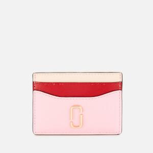 Marc Jacobs Women's Snapshot Card Case - Powder Pink Multi
