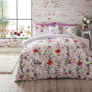 Ted Baker Hedgerow Duvet Cover - Pink