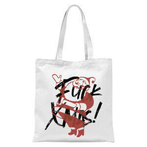 Alternative Xmas Tote Bag - White