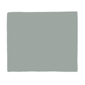 Grey Star Pattern Fleece Blanket