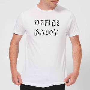 Office Baldy Men's T-Shirt - White
