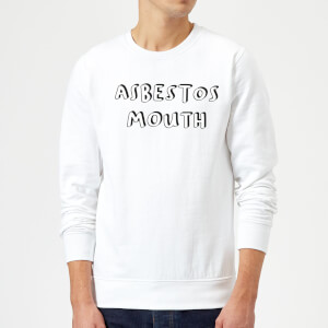 Asbestos Mouth Sweatshirt - White