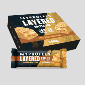 Myprotein Layered Bar, 3x60g Golden Week Bar