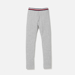 Tommy Hilfiger Girls' Solid Leggings - Grey Heather