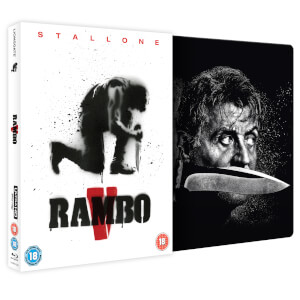 Rambo: Last Blood - 4K Ultra HD Zavvi Exclusive Steelbook (Includes 2D Blu-ray)