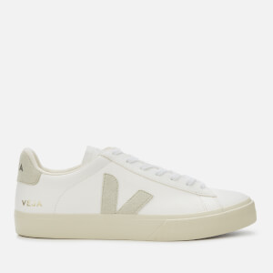Veja Men's Campo Chrome Free Trainers - Extra White/Natural/Butter Sole