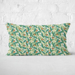 Green Jurassic Park Rectangular Cushion 30x50