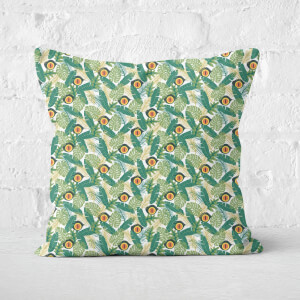Green Jurassic Park Square Cushion 40x40cm