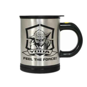 Funko Homeware Star Wars Feel the Force Yoda Self-Stirring Mug