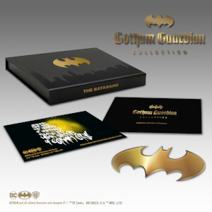 Limited Edition Gold Batarang