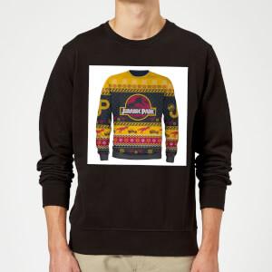 Jurassic Park Classic True Knit Sweatshirt - Black