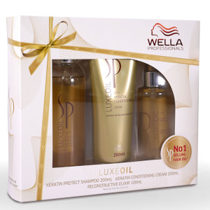 Wella Professionals Care SP Care LuxeOil Gift Set (Worth $122.85)