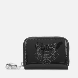 KENZO Women's Zip Coin Purse - Black