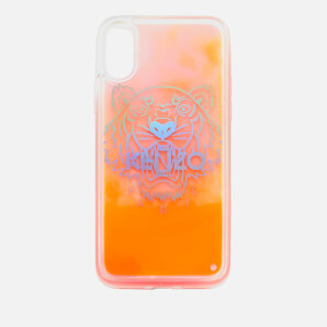 KENZO Women's iPhone X Tiger Head Sand Phone Case - Orange