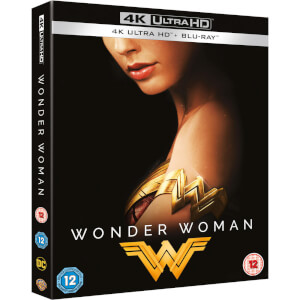Wonder Woman - 4K Ultra HD Zavvi Exclusive Steelbook With (Includes 2D Blu-ray and Slipcase)