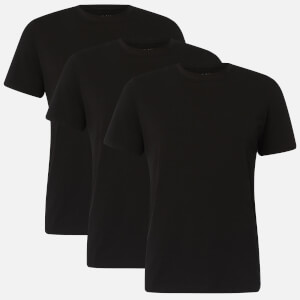 Ted Baker Men's 3 Pack Crew Neck T-Shirts - Black