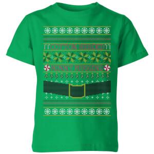 Elf Kids' T-Shirt - Kelly Green