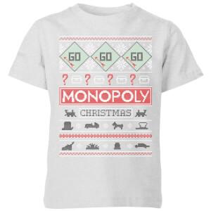 Monopoly Kids' T-Shirt - Grey
